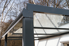 Glasdächer terrassenüberdachung